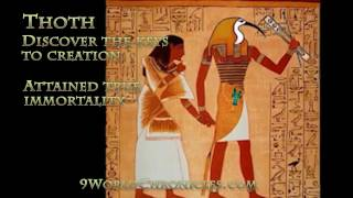 Thoth the Kemetic God of Wisdom, Magic and Science