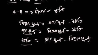 BCS Math : লাভ ক্ষতি নির্ণয় পদ্ধতি