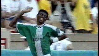ブラジルvsナイジェリア Atlanta 1996 準決勝