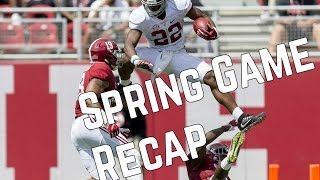 Alabama Football Spring Game Recap