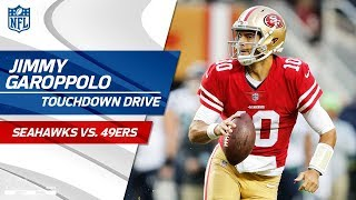 Jimmy Garoppolo Comes in the Game & Tosses Perfect TD Strike! | Seahawks vs. 49ers | NFL Wk 12