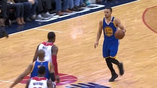 Stephen Curry Shakes Defender with Behind-the-Back Crossover! | 02.28.17