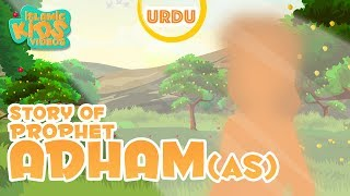 URDU ISLAMIC CARTOON FOR KIDS - Prophet Adam (AS)| Urdu Quran Stories For Kids