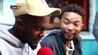 Kwesta uses his lyrical abilities in a game of 30 seonds