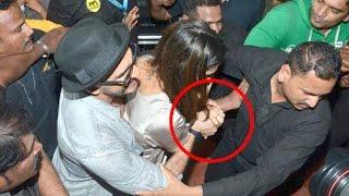 Ranveer Singh Protects Girlfriend Deepika Padukone From Being Molested In Public