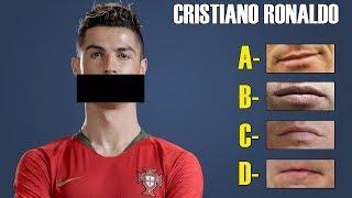 Quiz de futebol - Consegue adivinhar qual a boca correta do jogador ?