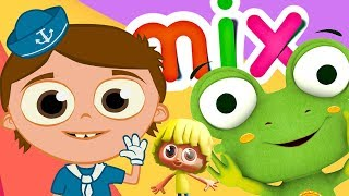Dance with The Sailor and his awesome friends! - Mix  | The Children's Kingdom