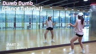 Red Velvet 레드벨벳_Dumb Dumb_Lisa Rhee Dance Tutorial