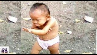 هذا الطفل أضحك العالم كله .. و سوف تضحك أنت الآن | أتحداك سوف تضحك ههه..!!