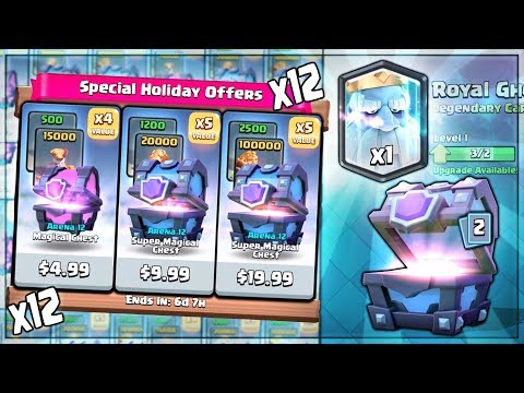 Xxx Mp4 OPENING X12 NEW HOLIDAY CHEST OFFERS Clash Royale NEW SHOP OFFER BUY SPREE 3gp Sex