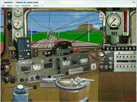 Tutorial Avviamento E646 Simulatore Treno 4.02