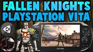 PS Vita Fallen Knights! Dark Souls Homebrew Game! CPU & GPU Overclock!