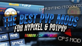 NEW BEST HYPIXEL & POTPVP PVP MODS RELEASE 🔥 (CHROMA) + Chroma 32x Pack Showcase  🍭 (1.7/1.8)