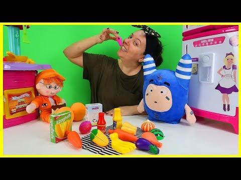 Hayri ile Mavi OddBod Pogo Yemek Yiyor l Çocuk Videosu