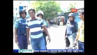 Police Torture in Bangladesh. DigantaTelevision Pkg  onair 27 April 2012