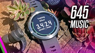 Garmin Forerunner 645 MUSIC Review (Long-Term) - Fitness and Smartwatch