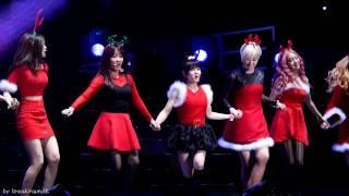 [fancam/직캠] 131221 T-ARA/티아라 Guangzhou concert - Merry Xmas  [Boram/보람 focus]