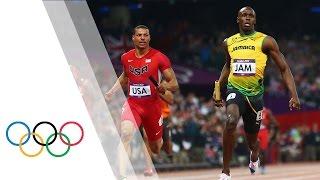 Jamaica Break Mens 4x100m World Record - London 2012 Olympics