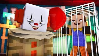 HELLO NEIGHBOUR IS NOW THE VICTIM! (IT THE CLOWN)