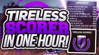 HOW TO GET TIRELESS SCORER & ACROBAT IN 1 HOUR -  NBA 2K18