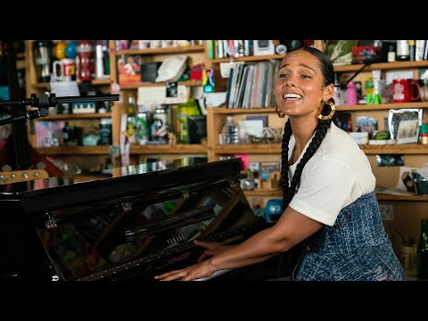 Alicia Keys NPR Music Tiny Desk Concert