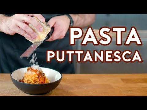Binging with Babish Pasta Puttanesca from Lemony Snicket s A Series of Unfortunate Events