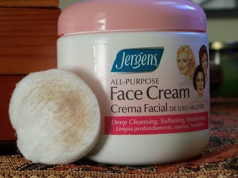 Jergens All-Purpose Face Cream Review!