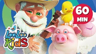 Old MacDonald Had a Farm - Cute Songs for Children | LooLoo Kids