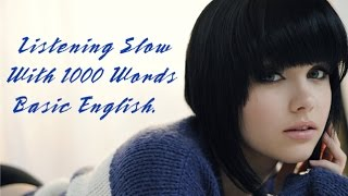 English short stories for beginner – Listening Slow With 1000 Words Basic English - Part 1✫