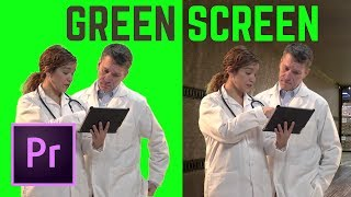 HOW TO Green Screen (Chromakey) Premiere Pro CC