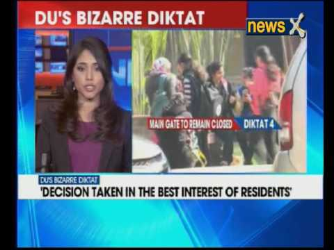 Delhi University bars girls from stop stepping out on Holi