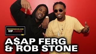 A$AP Ferg Talks About Touring With Rob Stone, A$AP Mob Tour,  R&B Album & Working with Dr  Dre