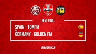 Spain vs Germany | TomFM vs Golden FM | Football Manager 2018 | #FMWorldCup