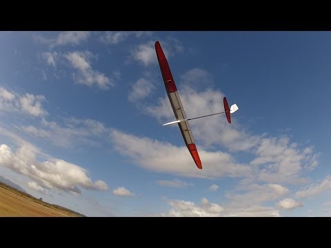 AVA Pro 4m glider in low level thermal