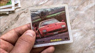 Артефакт из 90-х: их собирали ВСЕ! Коллекция вкладышей Bombibom с автомобилями