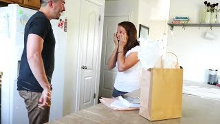 Husband Surprises Wife with a Vacation for their Anniversary! SHE HAD ABSOLUTELY NO IDEA!