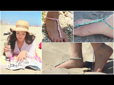How To DIY Easy Bottomless Sandals