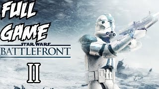 Star Wars Battlefront 2 Gameplay Walkthrough Part 1 Full Campaign Let's Play 1080p HD PC II