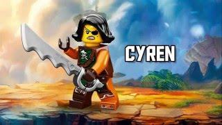 Cyren - LEGO Ninjago - Character Spot