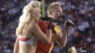 No Doubt - Live at Superbowl XXXVII Message In A Bottle
