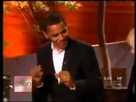 Obama oo ku ciyaarayo hees somali ah