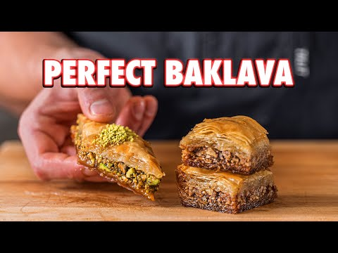 Easy Authentic Baklava At Home 2 Ways