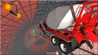 BeamNG Drive 2014 Version of Insane Testing & Pit of Death Fixed & Revisited #2