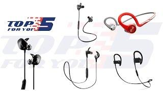 Top 5 Best Bluetooth Headphones For Running 2017 - 2018