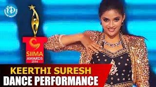 Keerthi Suresh Exclusive Dance Performance @ #SIIMA2014, Malaysia | Telugu