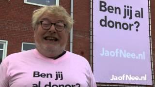 François Boulangé vraagt Lucile Werner: Ben jij al donor?