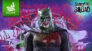Suicide Squad Hot Toys Joker Batman Imposter 1/6 Scale Figure Exclusive Reveal!