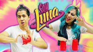 Alas - Soy Luna ( Cover con VASOS ) | Primera canción de SOY LUNA