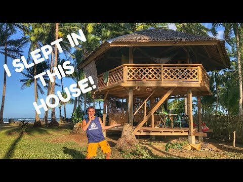 Amazing Wooden HOUSE In The PHILIPPINES Fighter Boys