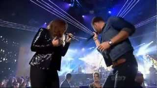 Lady Antebellum performing Need You Now on X Factor AU 2012